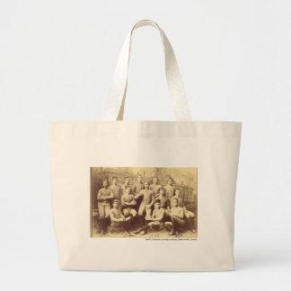 UMass Football 1888 Large Tote Bag