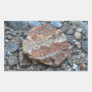 Umatilla Oregon Geology Rocks Earth History Stone Rectangular Stickers