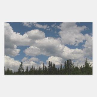 Umatilla Oregon  Landscape Skyscape Waterscape Rectangular Sticker