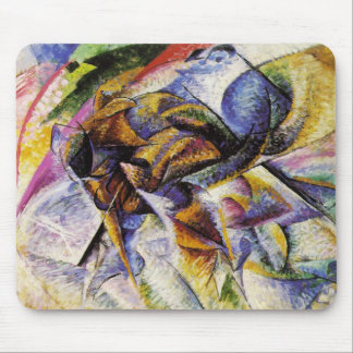 Umberto Boccioni - Dynamism of a Cyclist Mouse Pad