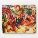 Umberto Boccioni - Elastic (Detail) Mousepad