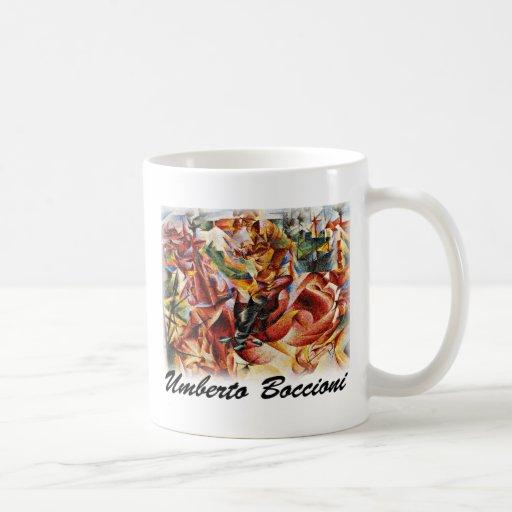 Umberto Boccioni - Elastic (Detail) Mugs