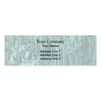 Umberto Boccioni-States of Mind III:Those Who Stay Business Card Template