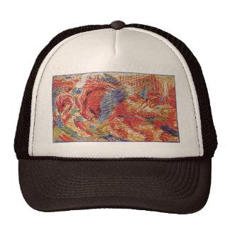 Umberto Boccioni - The city rises Trucker Hat