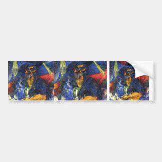 Umberto Boccioni- Woman in a Café Bumper Stickers
