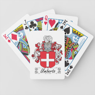 Umberto Family Crest Card Deck