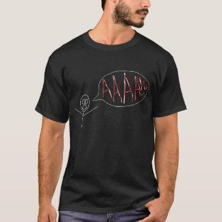 Umbra35's Stick Man - Scream T-Shirt