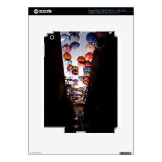 Umbrella Alley Decal For iPad 3
