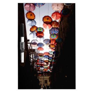 Umbrella Alley Dry-Erase Board