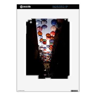 Umbrella Alley Skin For iPad 2