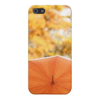 Umbrella and Autumn Colors iPhone SE/5/5s Cover