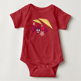 umbrella baby bodysuit