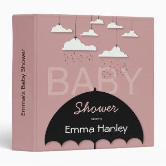 Umbrella Baby Shower Binder
