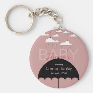 Umbrella Baby Shower Key Chain
