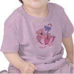 Umbrella Bear Baby Girl Pink - Customize T Shirt