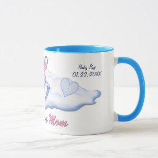 Umbrella Bear Boy for New Mom - Customize Mug