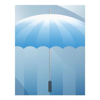 Umbrella Blank Presentation Background Letterhead