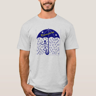 umbrella blue T-Shirt
