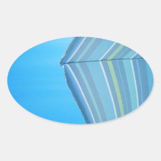 Umbrella Blues Stickers