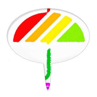 Umbrella Cake Pick