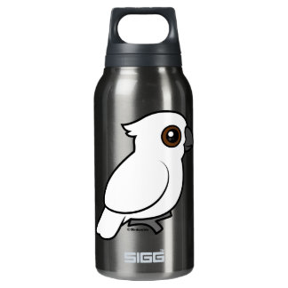 Umbrella Cockatoo (flat) 10 Oz Insulated SIGG Thermos Water Bottle