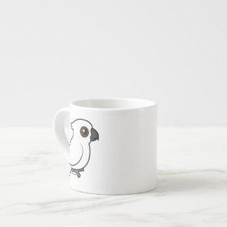 Umbrella Cockatoo (flat) 6 Oz Ceramic Espresso Cup