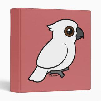 Umbrella Cockatoo (flat) Vinyl Binder