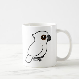 Umbrella Cockatoo (flat) Coffee Mugs