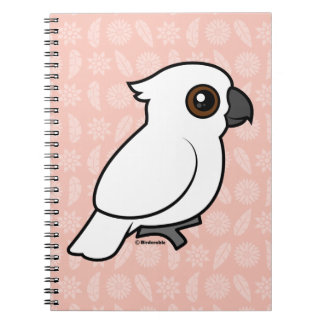 Umbrella Cockatoo (flat) Journal