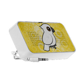 Umbrella Cockatoo (flat) Notebook Speaker