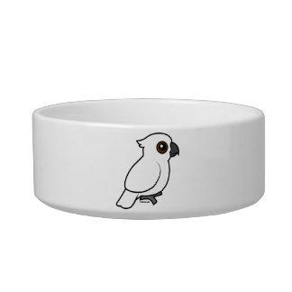Umbrella Cockatoo (flat) Pet Bowl