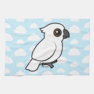 Umbrella Cockatoo (flat) Towel