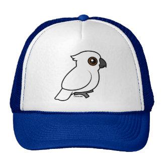 Umbrella Cockatoo (flat) Trucker Hat