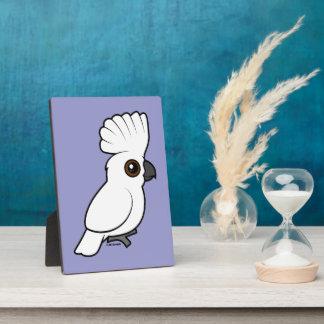 Umbrella Cockatoo (raised) Photo Plaque