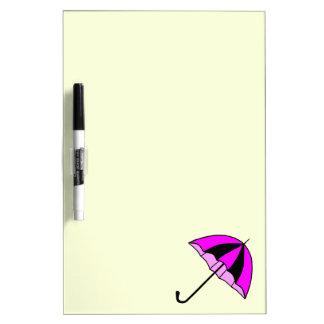 Umbrella, Custom Medium w/ Pen Dry Erase Board