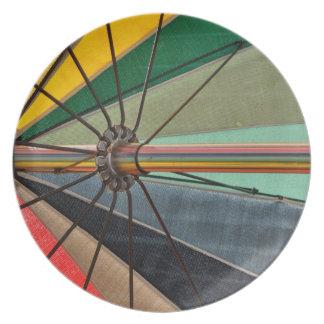 Umbrella Days Plate