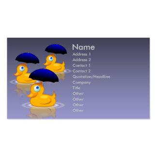 Umbrella Ducks Business Card