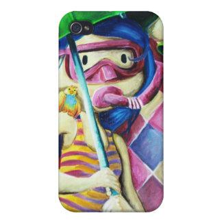 Umbrella_Girl___Detail_by_mariliawonka iPhone 4 Protector