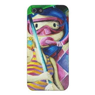 Umbrella_Girl___Detail_by_mariliawonka iPhone 5 Carcasas
