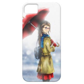 Umbrella Girl iPhone SE/5/5s Case