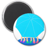 Umbrella Girls Magnet - Party Favor