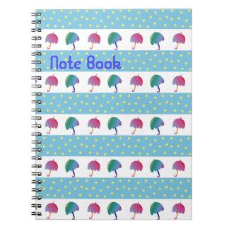 Umbrella Love Notebook