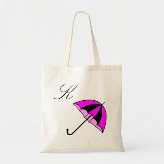 Umbrella,Monogram,Custom Budget Tote