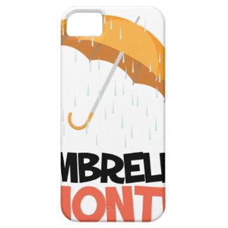 Umbrella Month - Appreciation Day iPhone SE/5/5s Case
