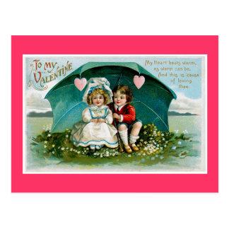 Umbrella of Love Postcard