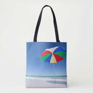 Umbrella On Beach | Australia Tote Bag