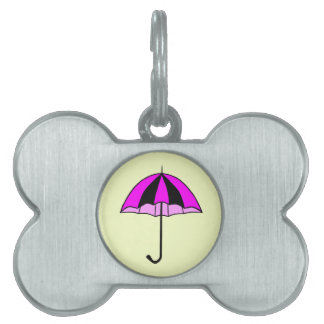 Umbrella, Pets, Custom Bone Pet Tag