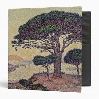 Umbrella Pines at Caroubiers, 1898 3 Ring Binder