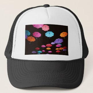 Umbrella rainy day sunshade parasol pattern trucker hat