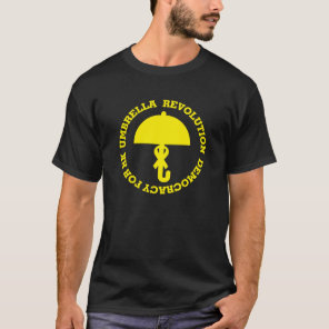 UMBRELLA REVOLUTION and DEMOCRACY FOR HK. T-Shirt